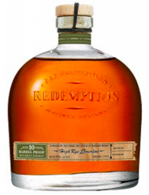Redemption 10 Year Barrel Proof High Rye Bourbon Whiskey - CaskCartel.com