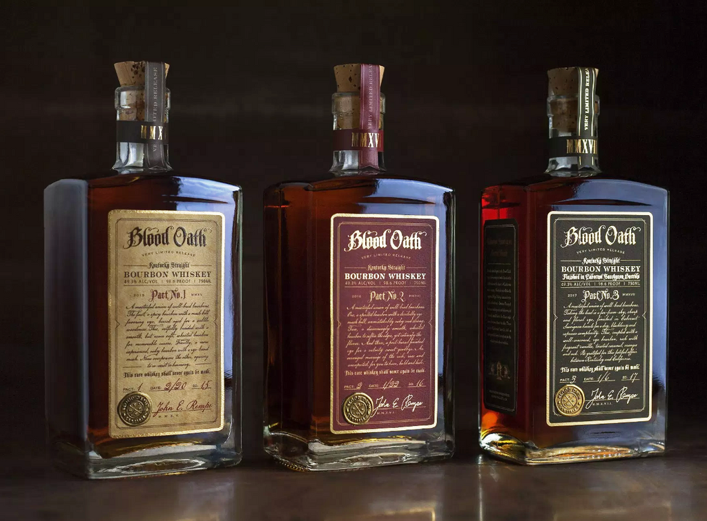 Blood Oath Trilogy Set  - Pact No. 1 Pact No. 2 and Pact No.3 Whiskey - CaskCartel.com