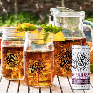Sip Shine Shineberry Sweet Tea | 4-Pack 200ml at CaskCartel.com 3