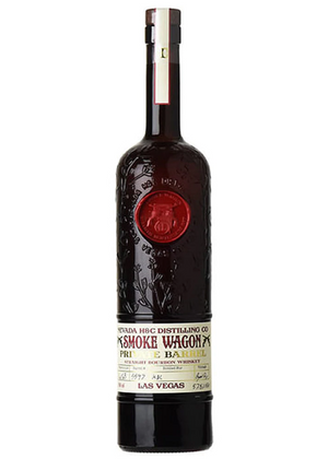 "Smoke Wagon 12 Year Old ""WUF SOCIETY Private Barrel"" 