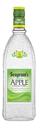 Seagram's Green Apple Flavored Vodka - CaskCartel.com