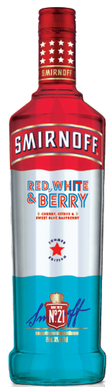 Smirnoff Limited Edition Red White & Berry Vodka at CaskCartel.com