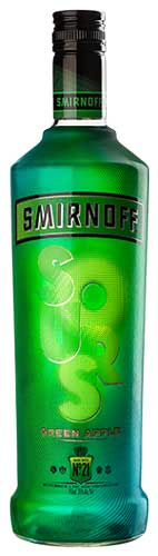 Smirnoff Sours Green Apple Vodka - CaskCartel.com