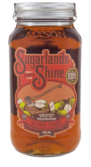 Sugarlands Shine Appalachian Apple Pie Moonshine - CaskCartel.com