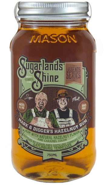 Moonshiners | Sugarlands Mark & Digger's Hazelnut Rum