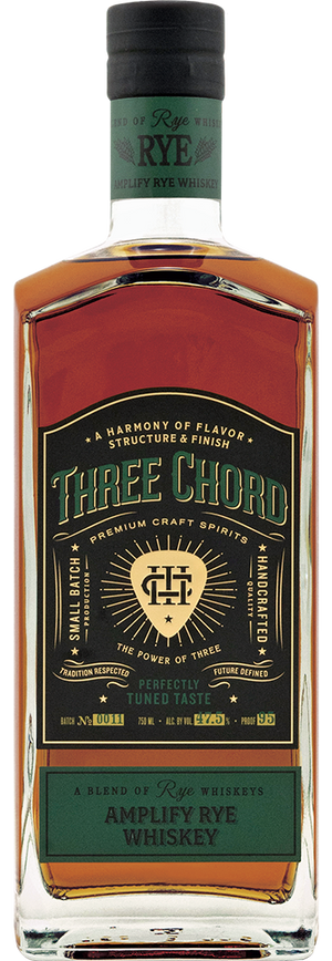 Three Chord Amplify Rye Whiskey at CaskCartel.com