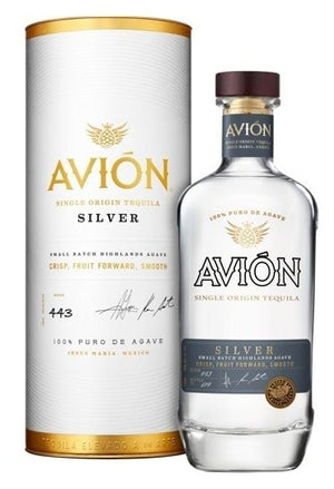 Avion Silver With Canister Tequila - CaskCartel.com