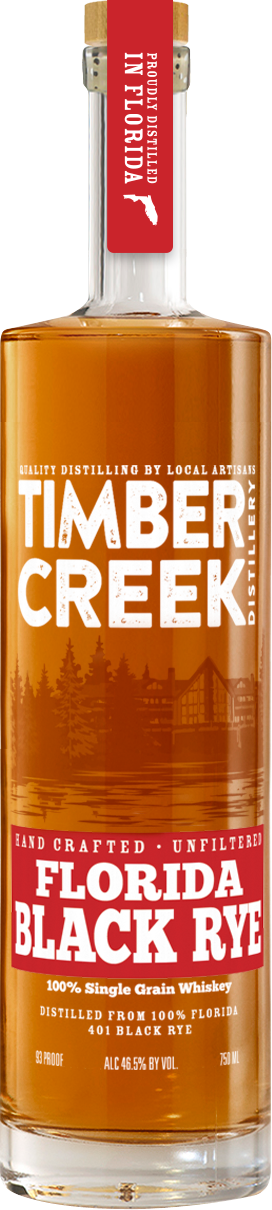 Timber Creek Distilling Florida Black Rye Whiskey - CaskCartel.com