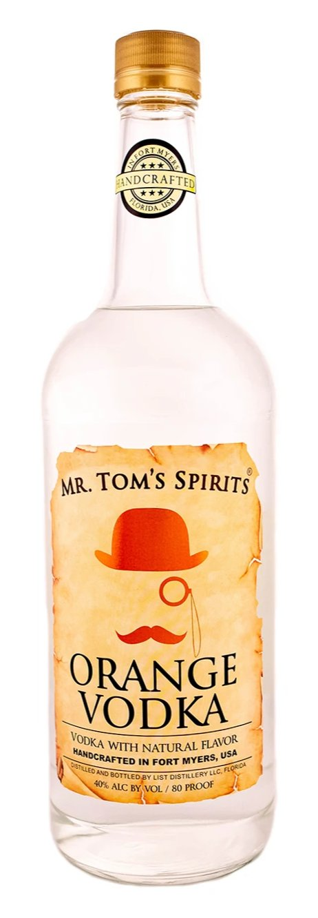 Mr. Tom's Spirits Orange Vodka 1L