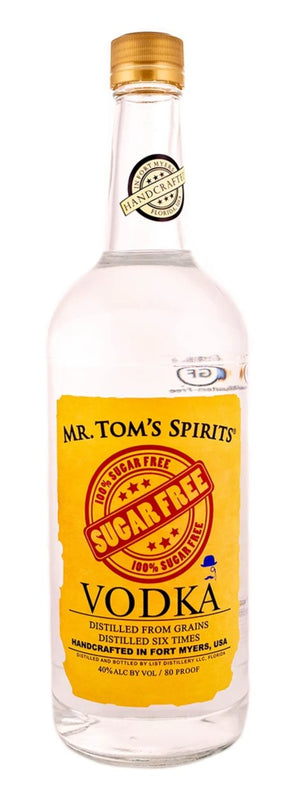 Mr. Tom's Spirits Sugar Free Vodka 1L - CaskCartel.com