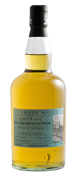 Wemyss Malts 'Smoke on the Rocks' 14 Year Old Single Malt Scotch Whisky - CaskCartel.com