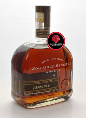 Woodford Reserve Double Oaked Barrel Select | Morning Wood | 2020  EDITION - CaskCartel.com