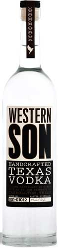 Western Son Texas Vodka - CaskCartel.com