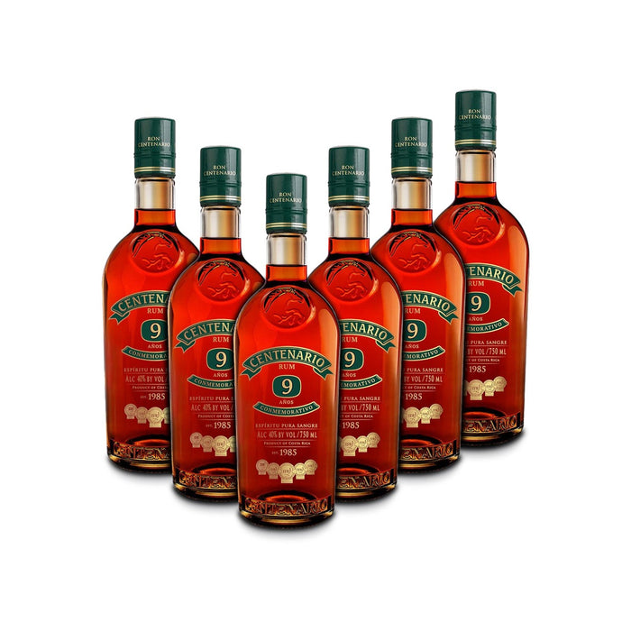 Ron Centenario 9 Conmemorativo Rum (6) Bottle Bundle