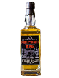 Whiskey Hollow Distillery Double Thumper Golden Rum