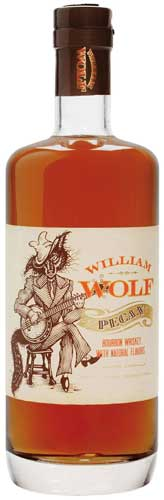 William Wolf Pecan Bourbon Whiskey