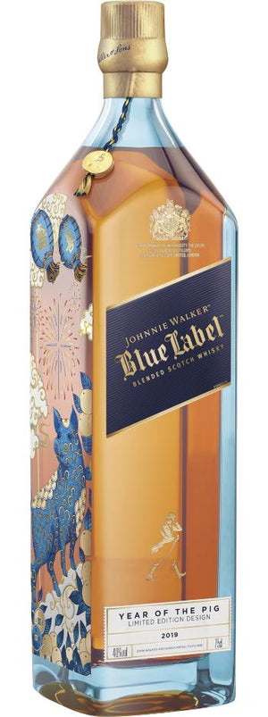 Johnnie Walker Blue Label Year of the Pig Limited Edition Scotch Whisky