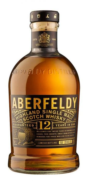 Aberfeldy 12 Year Old Single Malt Scotch Whisky - CaskCartel.com
