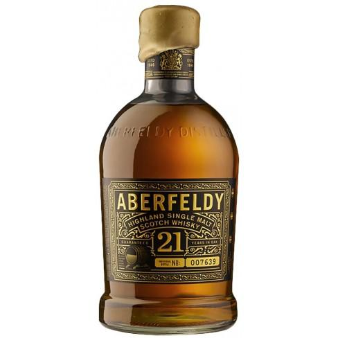 Aberfeldy 21 Year Old Single Malt Scotch Whisky  - CaskCartel.com