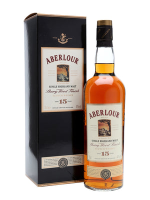 Aberlour 15 Year Old Sherry Wood Speyside Single Malt Scotch Whisky - CaskCartel.com