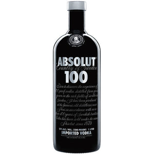 Absolut 100 Proof Vodka - CaskCartel.com