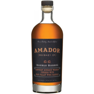 Amador Double Barrel Bourbon Whiskey - CaskCartel.com