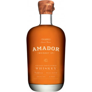 Amador Ten Barrels Straight Hop Flavored Whiskey - CaskCartel.com