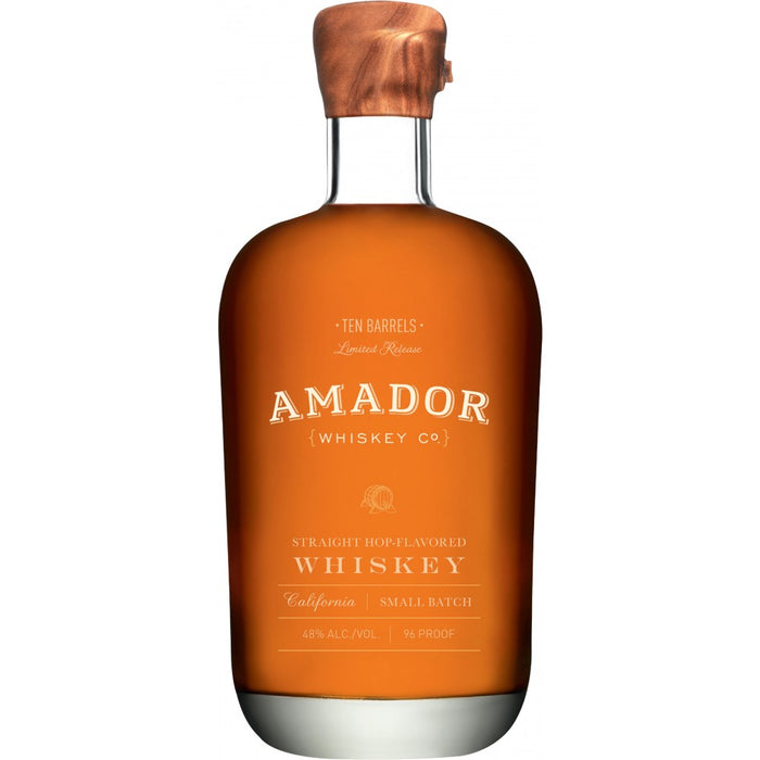 Amador Ten Barrels Straight Hop Flavored Whiskey