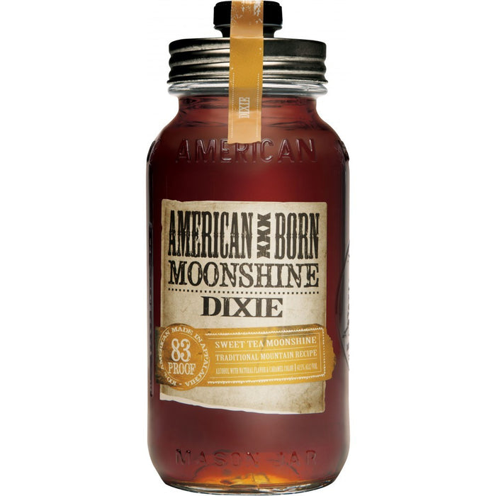 American Born Dixie Moonshine Whiskey