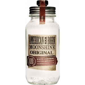 American Born White Lightning Moonshine Whiskey - CaskCartel.com
