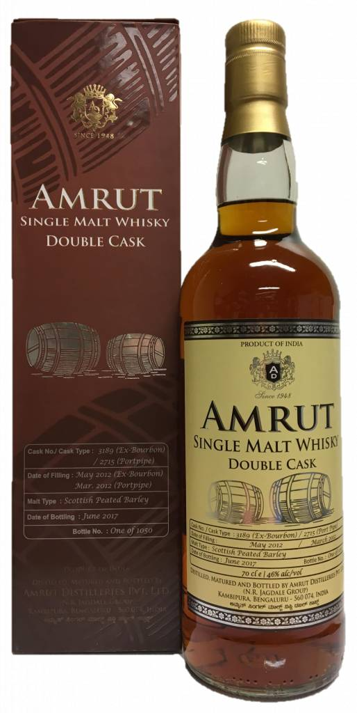 Amrut Single Malt Double Cask Whisky - CaskCartel.com