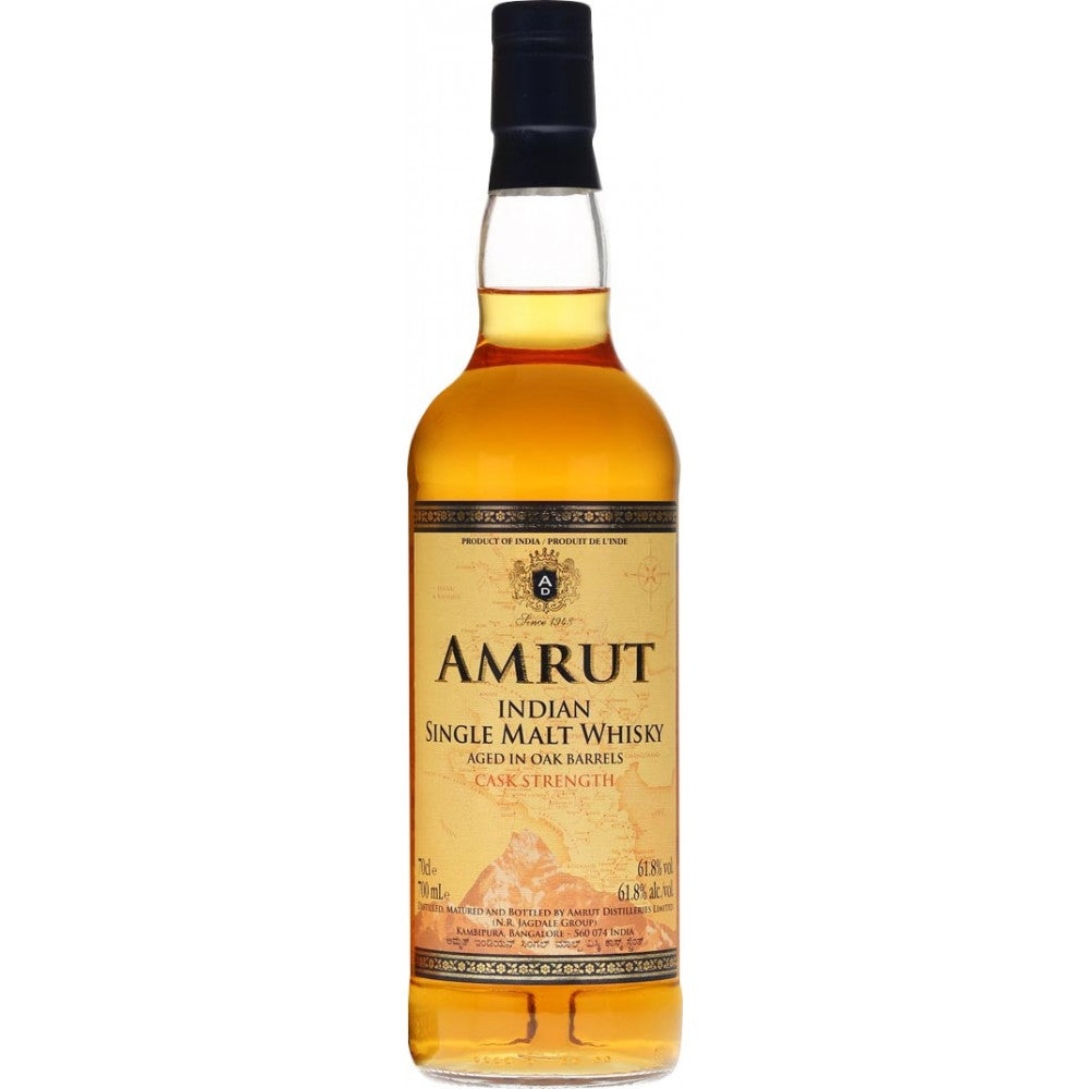 Amrut Cask Strength Indian Single Malt Whisky - CaskCartel.com