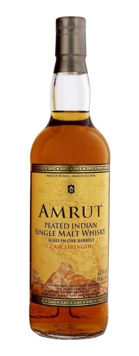 Amrut Peated Single Malt Whiskey - CaskCartel.com