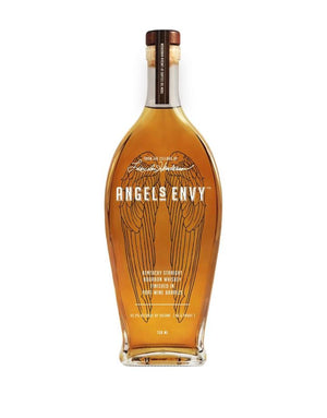 Angel's Envy Port Wine Barrel Finish Kentucky Straight Bourbon Whiskey - CaskCartel.com