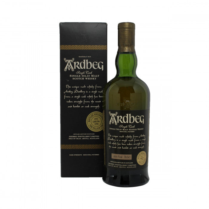 Ardbeg 1972 Single Cask 30 Year Old #2782 Velier Italy Exclusive Single Malt Scotch Whisky