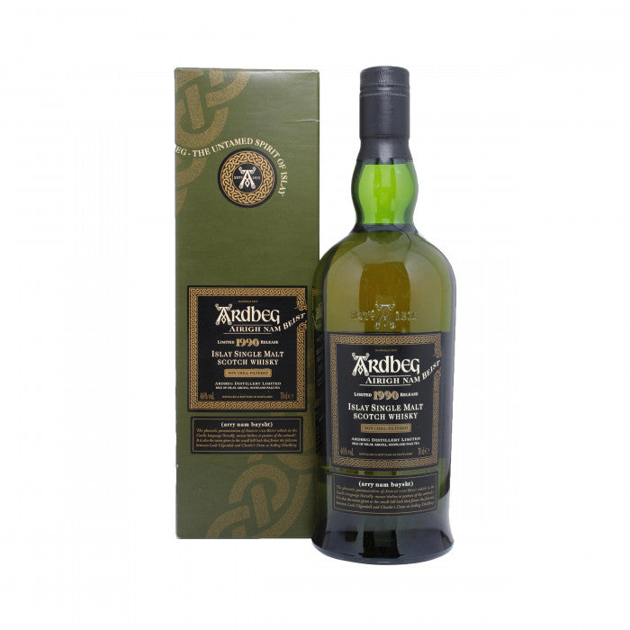 Ardbeg 1990 - Airigh Nam Beist - Bot.2008 Single Malt Scotch Whisky