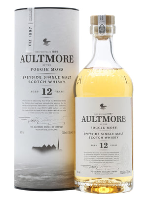 Aultmore 12 Year Old Single Malt Scotch Whisky - CaskCartel.com