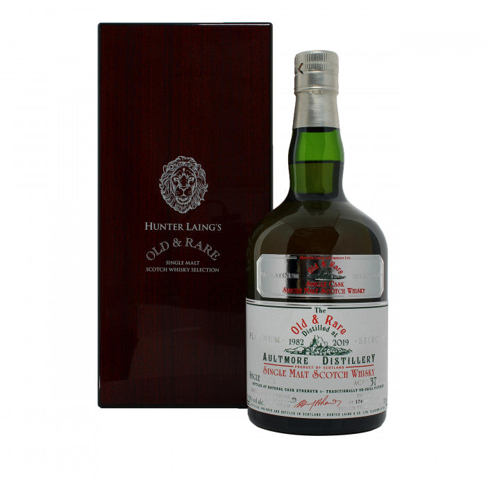 Aultmore 1982 37 Year Old Platinum Old & Rare Single Malt Scotch Whisky