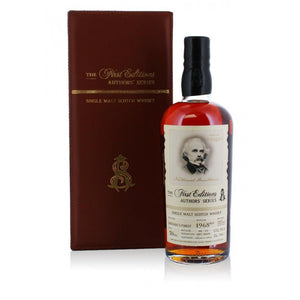 Authors' Series Probably Speyside's Finest 1968 50 Year Old Single Malt Scotch Whisky - CaskCartel.com