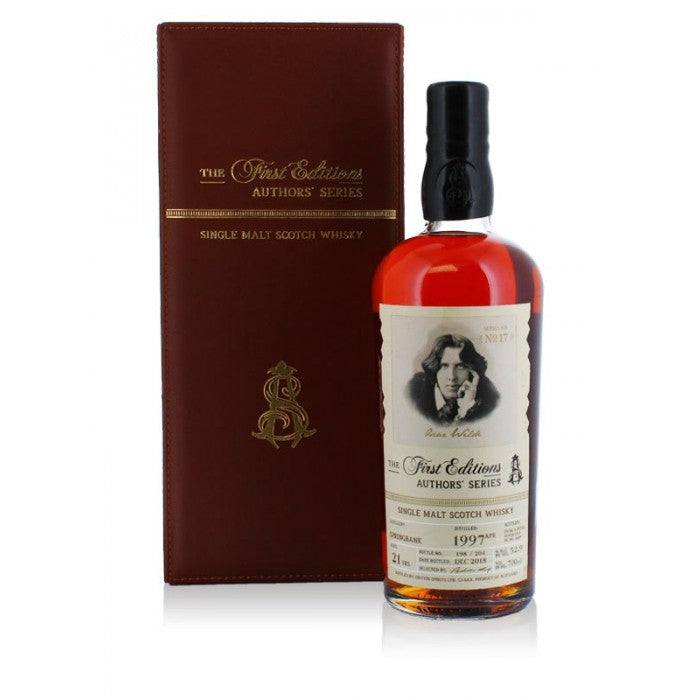 Springbank 1997 21 year old Authors Series - Oscar Wilde Single Malt Scotch Whisky