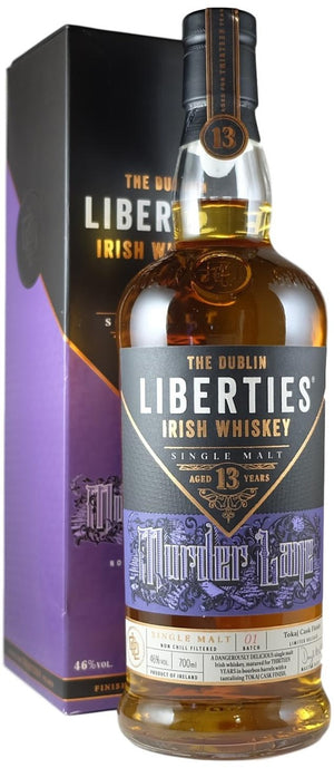 The Dublin Liberties 13 Year Old Murder Lane Single Malt Irish Whiskey at CaskCartel.com