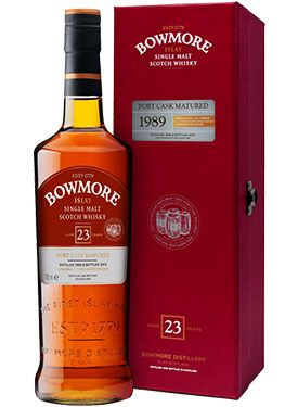 Bowmore 23 Year Old Port Cask Scotch Whisky - CaskCartel.com