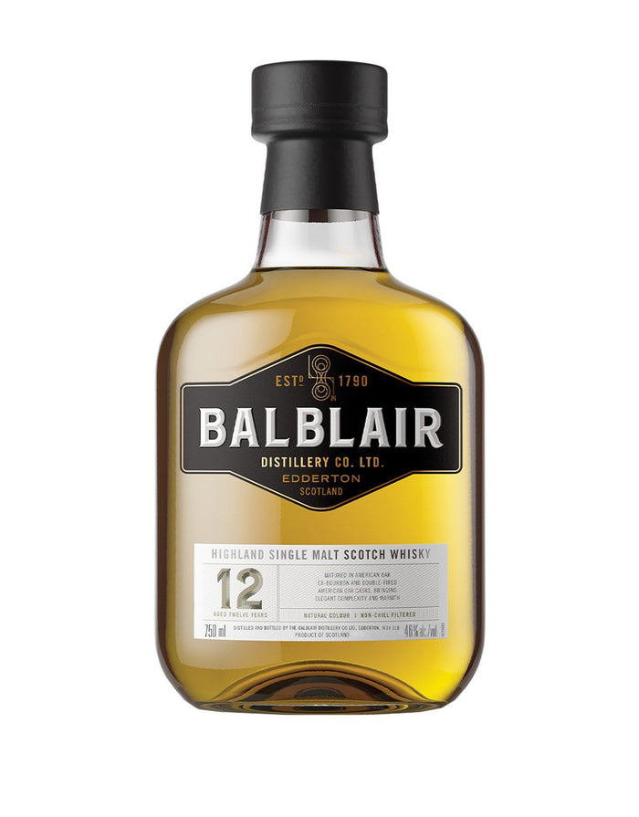 Balblair 12 Year Old Highland Single Malt Scotch Whisky