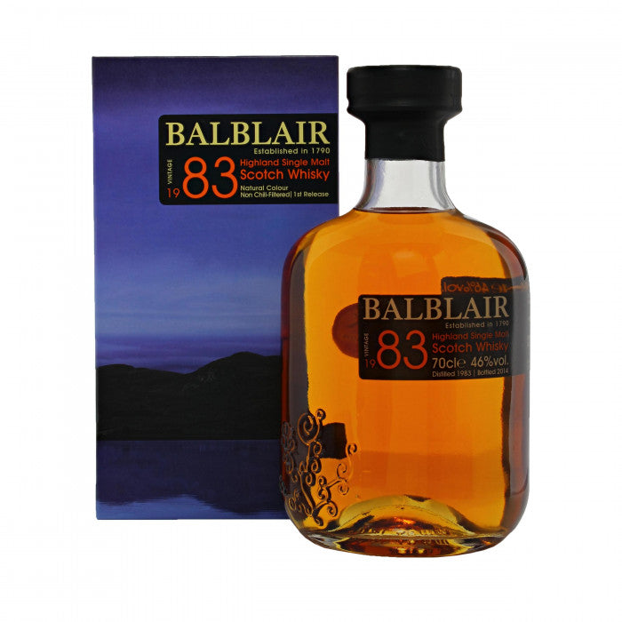 Balblair 1983 1st Release Single Malt Scotch Whisky