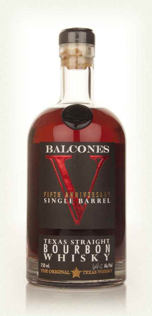 Balcones 5th Anniversary Single Barrel 1st Release Texas Straight Bourbon Whisky - CaskCartel.com