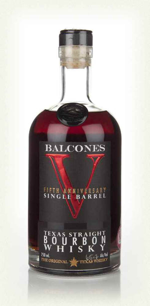 Balcones 5th Anniversary Single Barrel 2nd Release Texas Straight Bourbon Whisky - CaskCartel.com