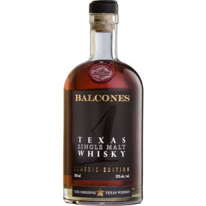 Balcones Texas Single Malt Whisky - CaskCartel.com