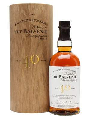 Balvenie 40 Year Old Speyside Single Malt Scotch Whisky - CaskCartel.com