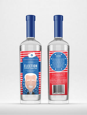 Election Spirits | Bleeding Heart Blueberry Vodka | THE CHALLENGER at CaskCartel.com