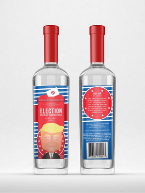 Election Spirits | Raspberry Rage Vodka | THE INCUMBENT at CaskCartel.com